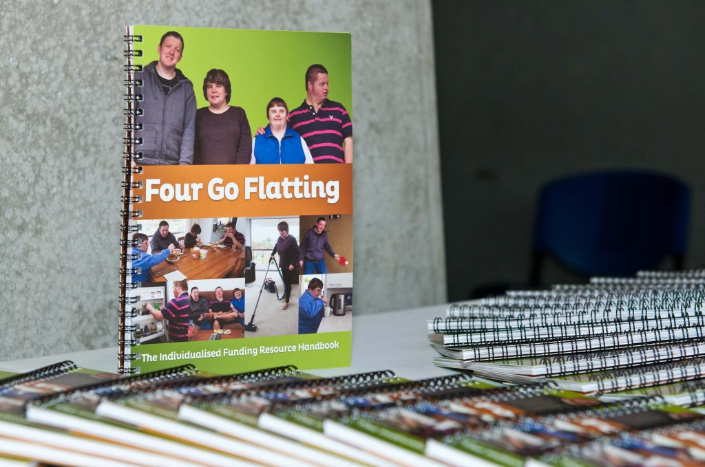 Four Go Flatting Book