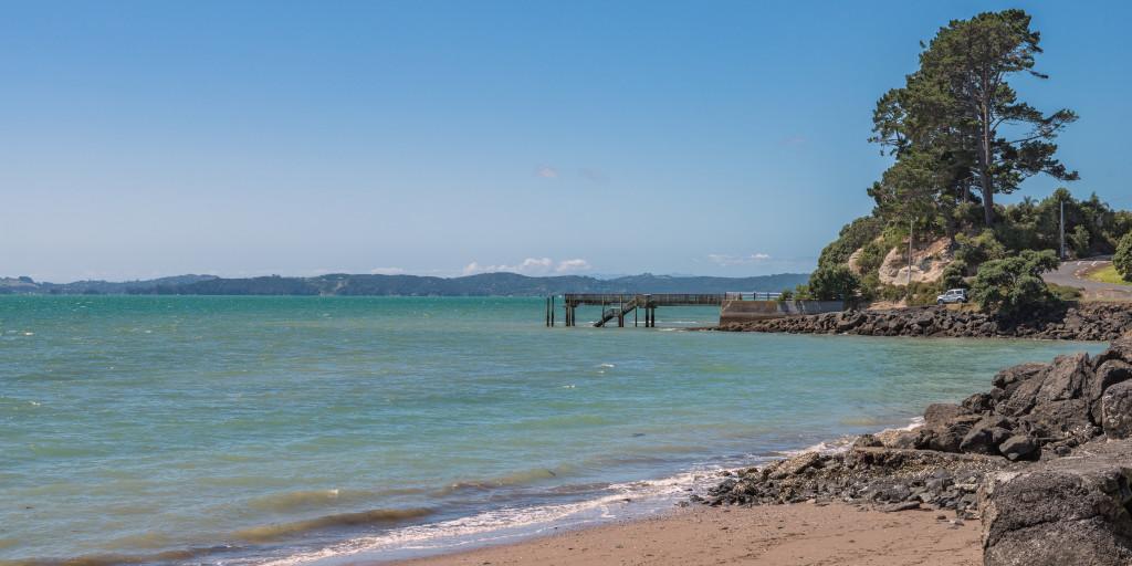 Boat ramp at Sunkist Bay