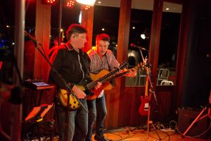 Jason Smith and Mark Thompson playing with Take Note, Auckland, New Zealand #3