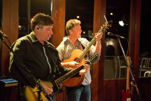 Jason Smith and Mark Thompson playing with Take Note, Auckland, New Zealand #4