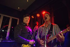 Jason Smith and Mark Thompson playing with Take Note, Auckland, New Zealand #8